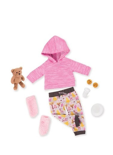 Our Generation Our Generation Deluxe Oyuncak Bebek Pijama Ve Ayıcık Seti 101291922 Renkli